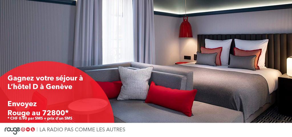 Gagnez un séjour à l'hôtel D à Genève
