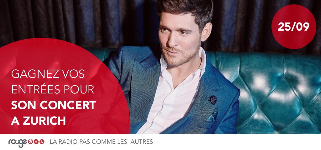 Gagnez vos places pour le concert de Michael Bublé