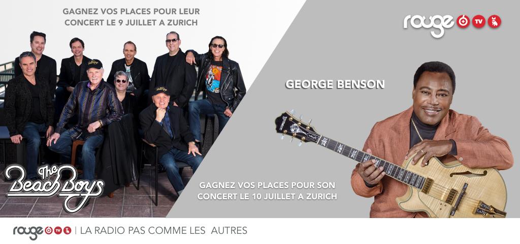 THE BEACH BOYS & GEORGE BENSON