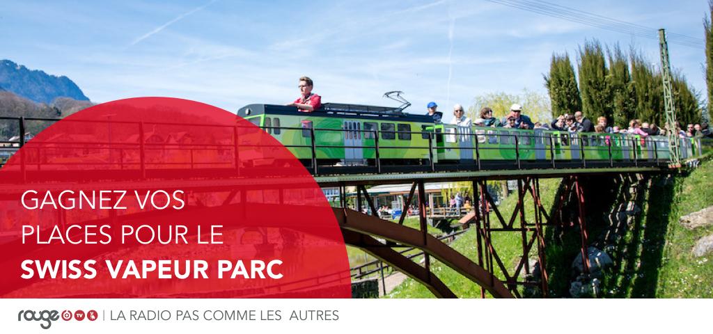 Gagnez vos places pour le Swiss Vapeur Parc